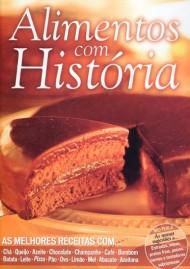 Livro Alimentos Com História - Frete Grátis
