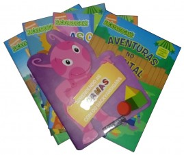 KIT INFANTIL BACKYARDIGANS