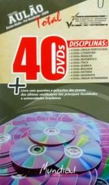 Coleção AULÃO 40 DVDs VIDEOAULAS PARA CONCURSOS - Frete Grátis